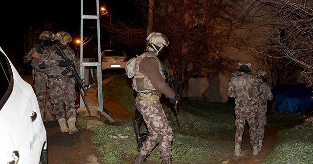 İstanbul merkezli 4 ilde uyuşturucu operasyonu