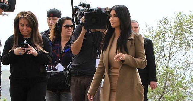 Kim Kardashian, eşi Kenya West'ten boşanmak için dava açtı