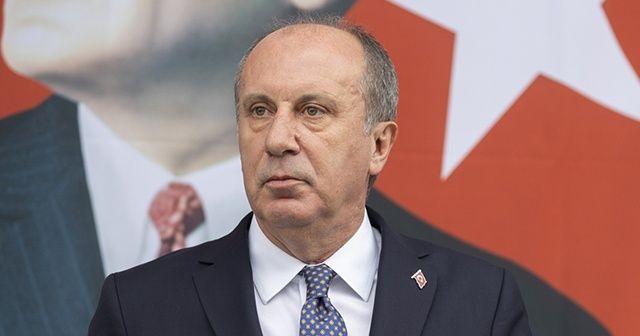 Muharrem İnce: CHP'den bugün istifa edeceğim