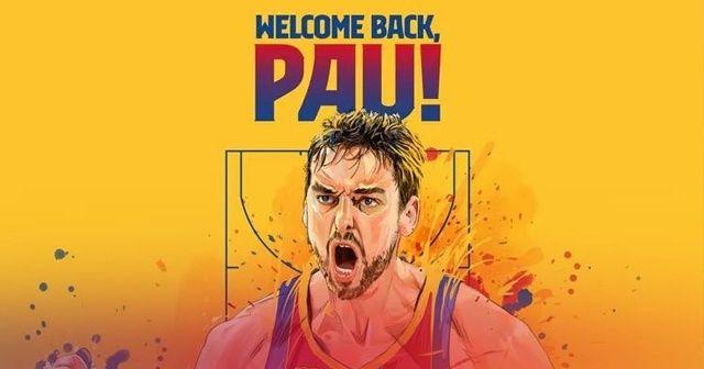 Pau Gasol, 20 yıl sonra Barcelona'ya geri döndü