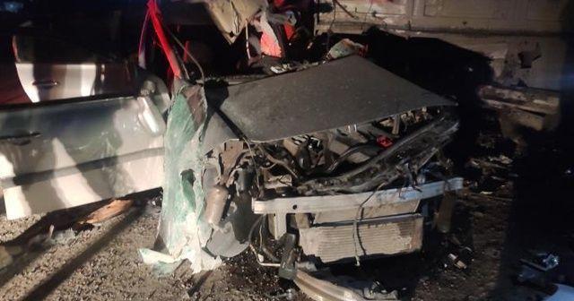 Şırnak'ta trafik kazası: 1 polis hayatını kaybetti