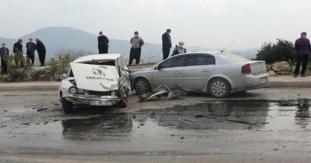 Trafikten men edilen kamyon kazada ortaya çıktı
