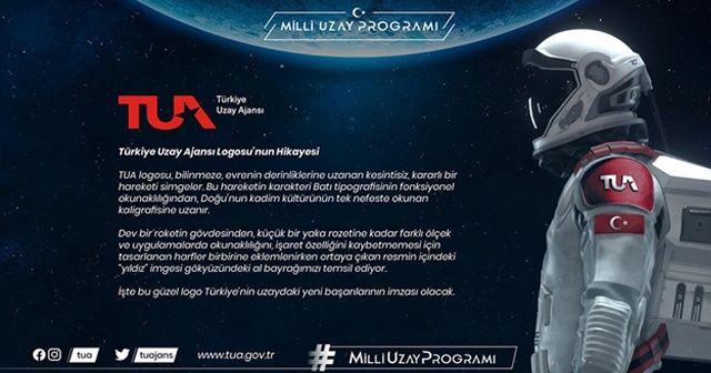 Türkiye Uzay Ajansının logosu görücüye çıktı