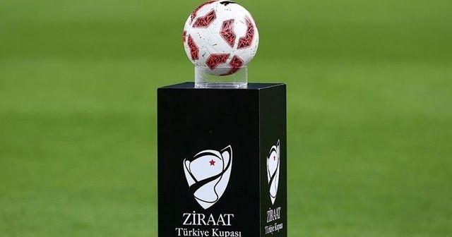 Ziraat Türkiye Kupası'nda yarı finalistler belli oldu
