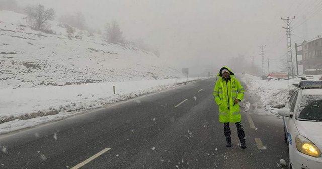 Zonguldak-İstanbul yolu tırlara kapatıldı