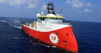'Barbaros Hayrettin Paşa' sismik araştırma gemisi Çanakkale Boğazı'ndan geçti