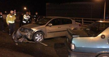 Alkollü sürücü zincirleme kazaya neden oldu: 4 yaralı