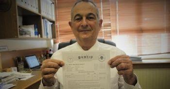 Aşı olan anabilim başkanı antikor sonuçlarını paylaştı