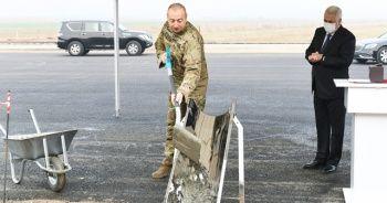 Azerbaycan - Nahçıvan demir yolu hattının temeli atıldı