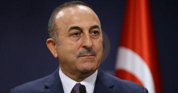 Bakan Çavuşoğlu, KKTC Başbakanı Saner ile görüştü