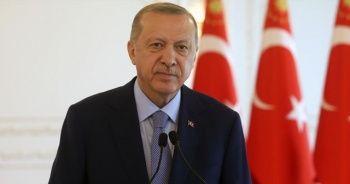 """Cumhurbaşkanı Erdoğan'dan """"Güçlü Türkiye"""" mesajı"""