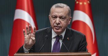 Cumhurbaşkanı Erdoğan'dan yeni Anayasa paylaşımı