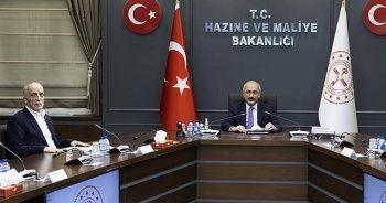 Elvan: İşçilerimizin bizden beklentilerin Türk-İş yönetimiyle birlikte ele aldık