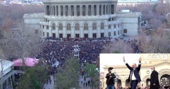 Ermenistan'da meydanlar hareketlendi