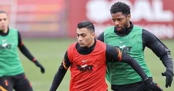 Galatasaray, BB Erzurumspor hazırlıklarına devam etti