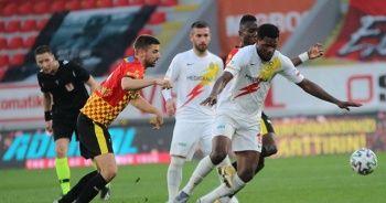 Göztepe, sahasında Yeni Malatyaspor ile 2-2 berabere kaldı