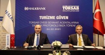 Halkbank'tan 'TÜRSAB Üyesi Seyahat Acentelerine Destek Paketi'