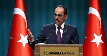 İbrahim Kalın: Ermenistan'daki darbe girişimini kınıyoruz