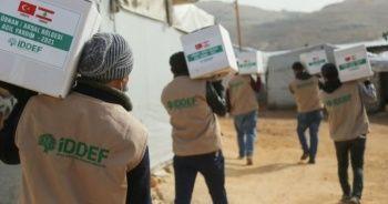 İDDEF, Lübnan'daki Suriyelilere yardım elini uzattı
