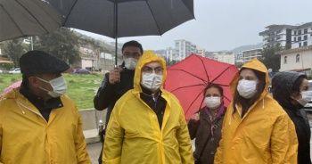 İzmir'de sel felaketi: Vali Köşger ve Başkan Çalkaya'dan inceleme
