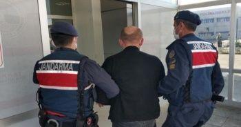 Jandarma tarafından uyuşturucuyla yakalanan şahıs tutuklandı