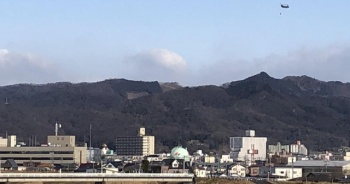 Japonya'da orman yangını kontrol altına alınamıyor
