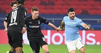 Manchester City çeyrek final avantajını kaptı