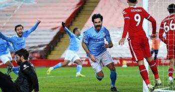 Manchester City deplasmanda Liverpool'u 4-1 mağlup etti