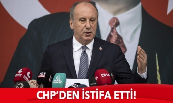 Muharrem İnce CHP'den istifa etti
