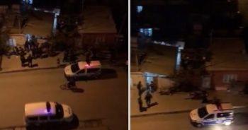 Şehrin göbeğinde düğün yapanlara polis baskını