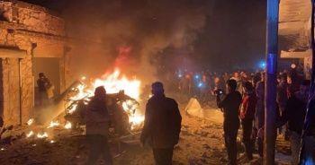 Suriye'nin kuzeyindeki Azez'de terör saldırısı: 5 yaralı