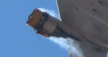 United Havayolları uçağı acil iniş yaptı