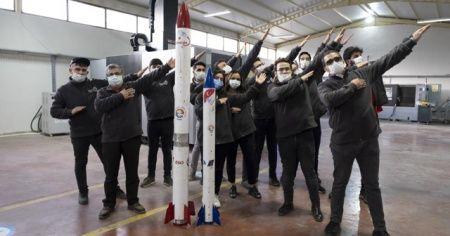 Garajdan roket çıktı