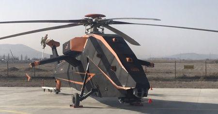 İnsansız helikopterimiz T629 ilk kez görüntülendi