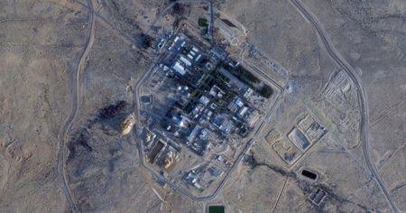 İsrail'e ait nükleer tesiste geniş çaplı çalışma