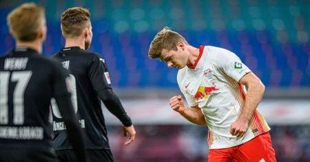 Leipzig, Sörloth'un uzatmalarda attığı golle kazandı