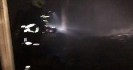 Mardin'de korkutan otel yangını