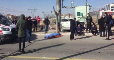 Okul müdürünün öldüğü kaza kamerada