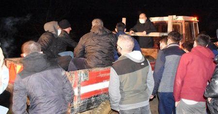 Sinop'ta kestiği ağcın altında kalan Kıbrıs gazisi öldü