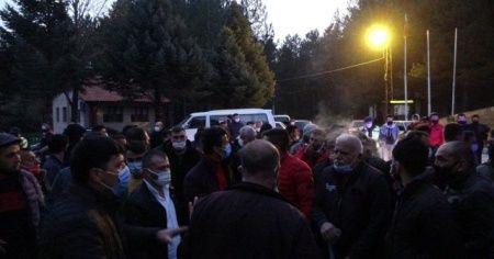 Taciz iddiası köyü ayağa kaldırdı
