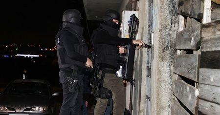 Terör PKK örgütü'ya eş zamanlı operasyon