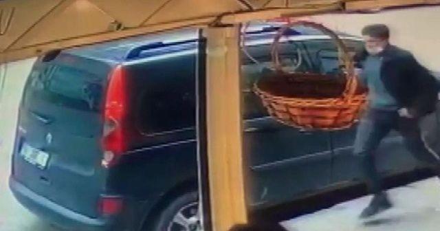 13 yaşındaki çocuğu taciz eden şüphelin kaçış anı kamerada