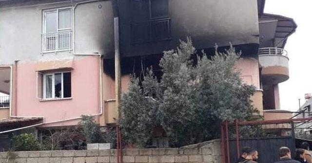 2 yaşındaki ikizler yangında hayatını kaybetti