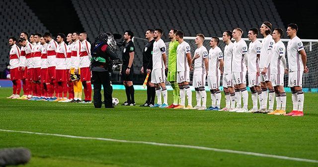 A Milli Takım'ın Letonya'ya karşı galibiyeti yok!