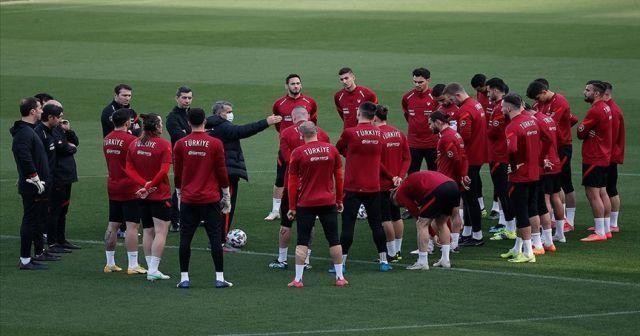 A Milli Takım Norveç maçı hazırlıklarını tamamladı
