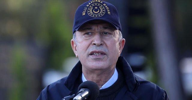 Bakan Akar: Mısır'ın yaklaşımı ve son gelişmeler, iki ülkenin ve diğer bölge ülkelerinin yararınadır