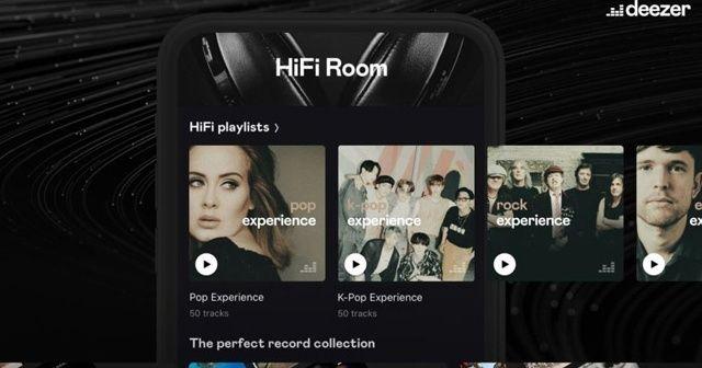 Deezer, sadece HiFi aboneleri için özenle seçilmiş parçalar oluşturdu