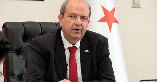 Ersin Tatar: Her zaman Kıbrıs Türk halkının yanında olan Türkiye, suyunu da verdi