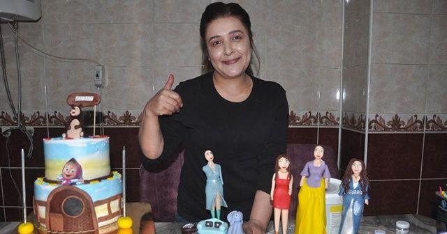 Evinin mutfağını atölyeye çeviren kadın yurtdışından da sipariş alıyor