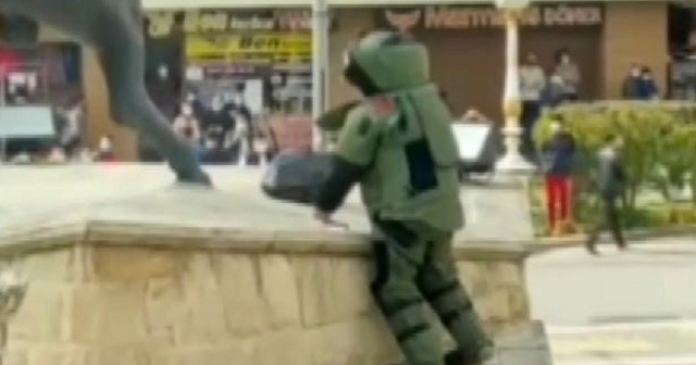 Gaziantep'te şüpheli paket korkuttu